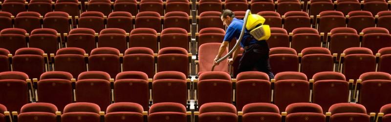 Nettoyages de salles de spectacles et de cinéma